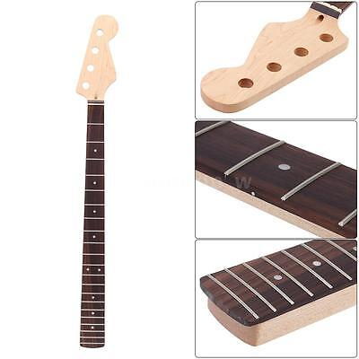Bass Guitar Maple Neck  Right Handed  Rosewood Fingerboard 21 Fret New Y6m5