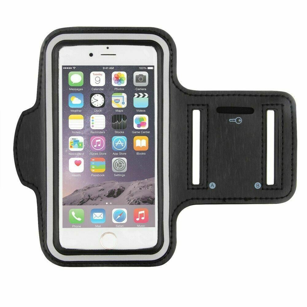 APPLE iPhone 7/8/X/11 HANDY SPORT ARMBAND SPORTARMBAND TASCHE FITNESS LAUF HÜLLE