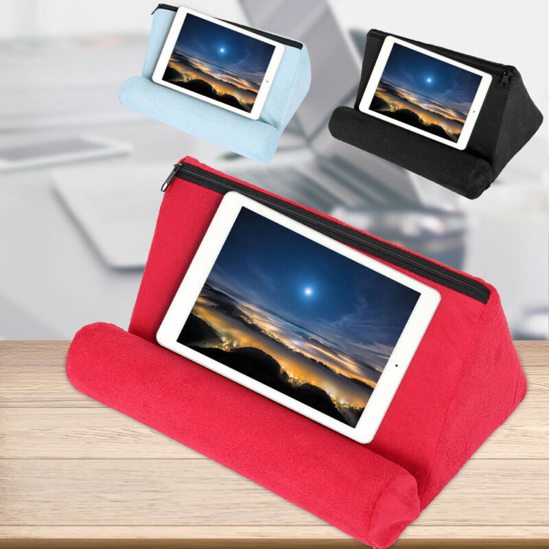 Tablet Pillow Holder Stand Foam Book Rest Reading Bed Suppor