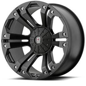 """18"""" KMC Monster XD Wheel Rims Hilux Ranger Triton Navara Colorado Frankston Frankston Area Preview"""
