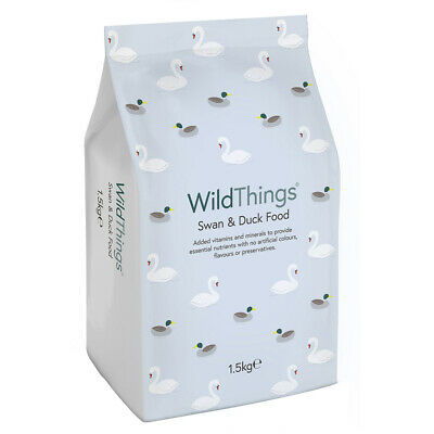 Wild Things 1.5kg Nutritious Dry Nugget Swan & Duck Food Prevent Water Pollution