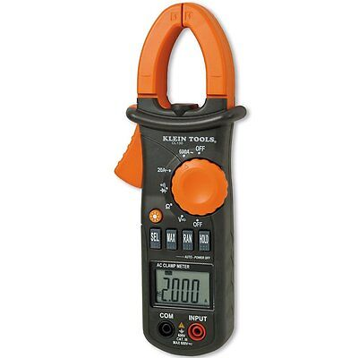 NEW KLEIN TOOLS - CL110 - DIGITAL CLAMP METER, AC AUTO-RANGING 400A ()