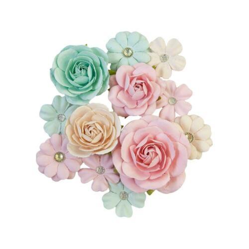 Prima Marketing Flowers - Sugar Cookie Christmas - Pink Jolly 648558