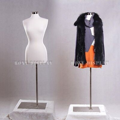 Female Size 6-8 Jersey Cover Body Form Mannequin Manikin Dress Form F68wbs-05