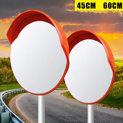 1824 Wide Angle Security Convex Pc Mirror Outdoor Road Traffic Driveway Safety