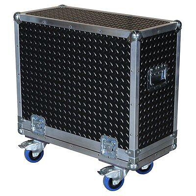 "Diamond Plate Laminate ATA 3/8"" Case for Hughes & Kettner Montana Acoustic Amp"