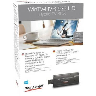 Hauppauge WinTV-HVR-935HD TV-Stick Aufnahmefunktion, mit DVB-T Antenne, mit