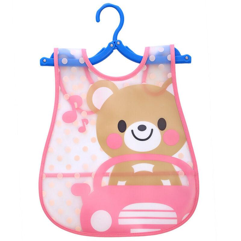 Newborn Cute Kids Bibs Baby Soft Cartoon Bib Toddler Waterproof Saliva Dripping A
