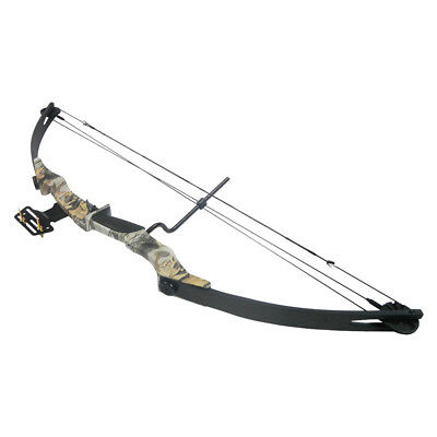 40-55 lb Black / Sliver / Camo Camouflage Archery Hunting