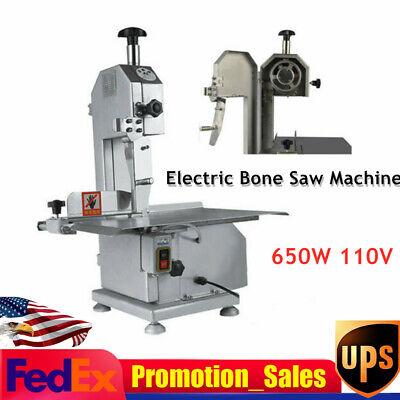 650w 110v Commercial Electric Bone Sawing Machine Meat Steak Cutting Machine New