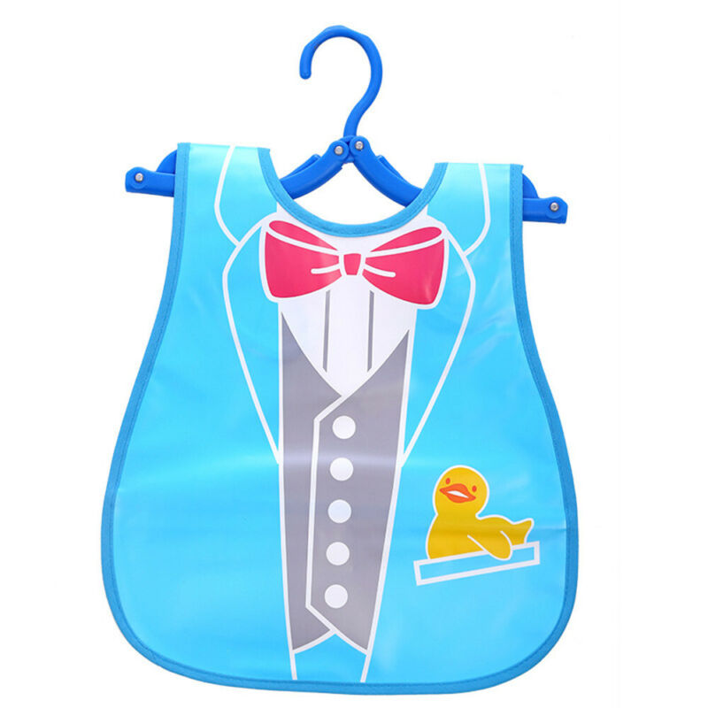 Newborn Cute Kids Bibs Baby Soft Cartoon Bib Toddler Waterproof Saliva Dripping N