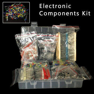 Kits Electronic Component Set Metal Film Resistance Diodes Electrolytic