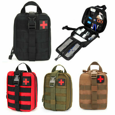 Utility Kit Bag - Outdoor Tactics Survival Molle Pouch First Aid Kit Emergency Medical Utility Bag