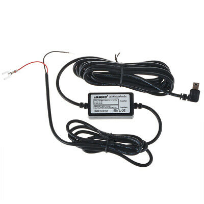 USB Hardwire Car Charger Power Cable Cord Kit for Garmin Dash Cam 10 20 35 DVR