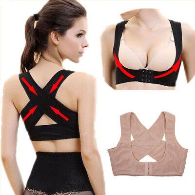 Adjustable Women Shoulder Back Posture Corrector Chest Brace Support Bra Shaper