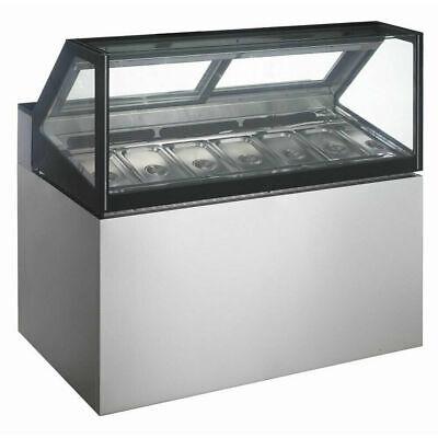 Coldline Gd120 48 6 Pans Gelato Ice Cream Dipping Cabinet Freezer