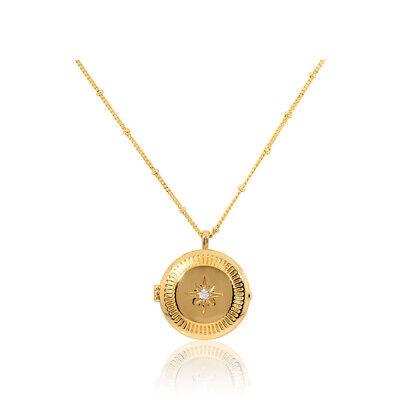 Gorjana Stellar Locket Two Tone Size 25.5 inches Necklace RE19411502G