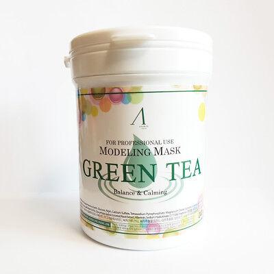 [AnSkin] GREEN TEA Modeling Mask Powder Pack 700ml/Brightening Calming skin care