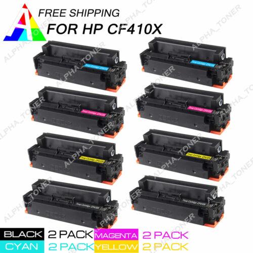 CF413X Toner Cartridge For HP LaserJet Pro M452 M477 Set Compatible CF410X