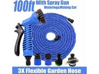Wholesale expandable hoses 100ft blue and green. Hundreds in stock