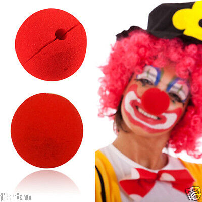 50Pcs Sponge Ball Red Clown Magic Nose For Halloween Masquerade Costumes - Wizard Nose Halloween Costume