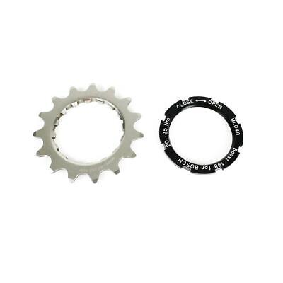 FSA Bosch E Bike Offset Chainring Sprocket WA321 Stainless Steel - 15T Silver