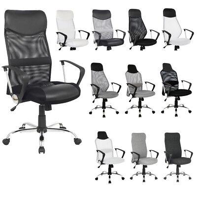 SixBros. Drehstuhl Bürostuhl Schreibtischstuhl Stuhl Chefsessel Farbwahl