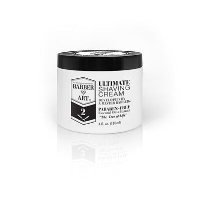 Shaving Cream Best Shave For Men 4oz Olive oil Aloe Vera & Vitamins