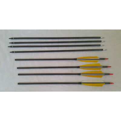 Takedown arrow Pocketshot arrow 300 spine natural feather arrow with quiver