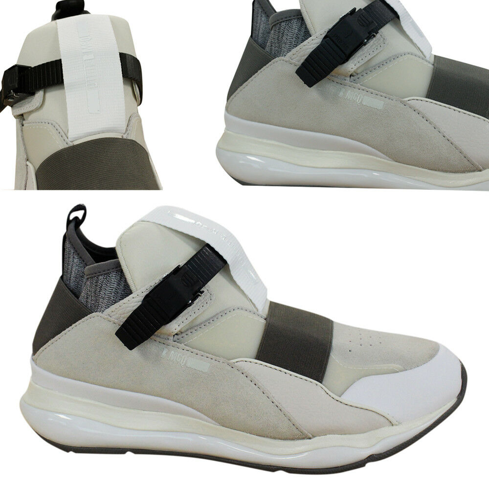 bd135a097cb21 Details about Puma AMQ Alexander McQueen Cell Bubble Runner Mid Mens  Trainers 361485 01 D126