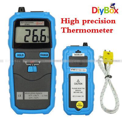 Btm01 Bside 1.77in 2-channel Handhold K-type Digital Temperature Thermometer Diy