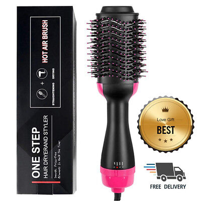 Accellorize 2 in 1 Hot Air Styling Brush, One Step Ionic Hair Dryer&Volumizer US