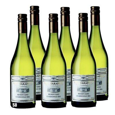 6 Vina Tarapaca Reservado Chardonnay Weißwein Chile 13% vol 75cl