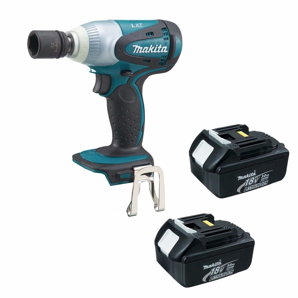 MAKITA 18V LXT DTW251 DTW251Z IMPACT WRENCH 2 x BL1830 1 x DC18RC 1 x BAG