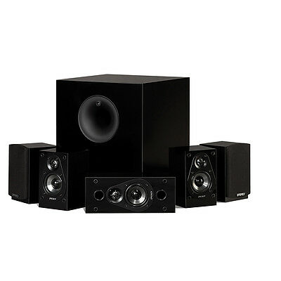 Energy 5.1 Take Classic Home Theater System (Set of Six, Black) - 1008207