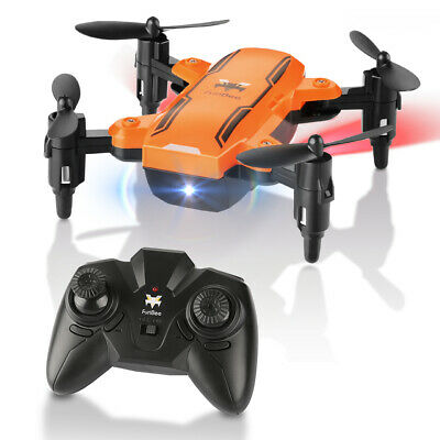 Foldable Mini Drone, H815 Far-fetched Control Quadcopter RC W LED Night Light