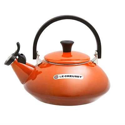 Le Creuset Zen Steel Enameled Kettle Teapot 1.5L Red