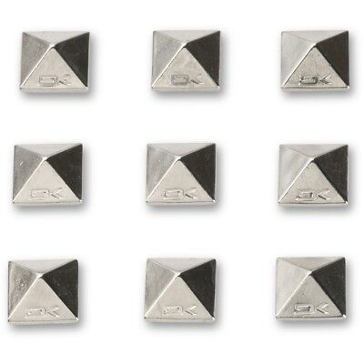 Dakine Pyramid 9 Metal Spikes Snowboard Stomp Pad Chrome Adhesive Studs NEW