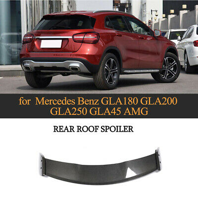 Spoiler Carbon Dachspoiler Heckansatz Lippe für Mercedes Benz GLA200 GLA 13-18