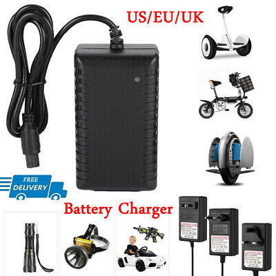 42V AC Battery Charger Power Supply Adapter for Scooter Bala
