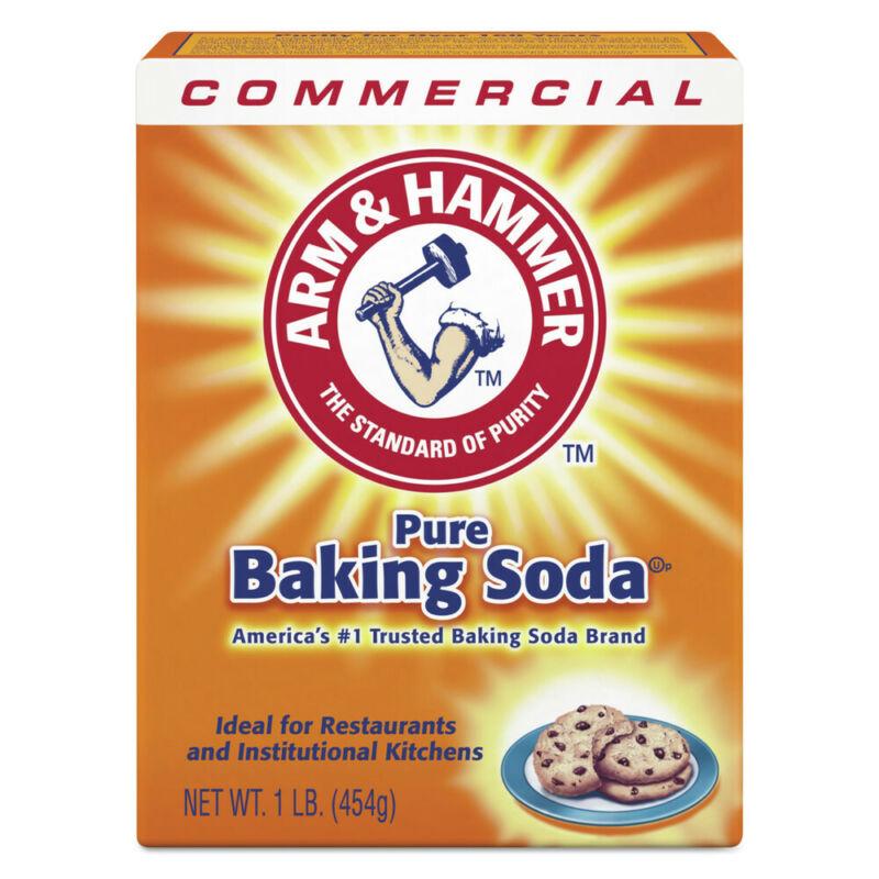 Arm & Hammer 3320084104 24 BX/CT 1 lb. Baking Soda New