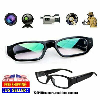 720P HD Digital Spy Camera Glasses Audio Recording DVR Video Eyewear Camcorder