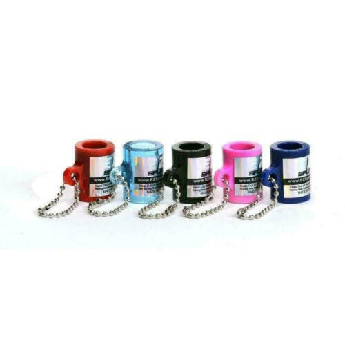 EZ Splitz Cigar Cutter Blunt Splitters Key Chains (Lot of 5)Asstd Colors