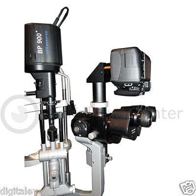 New Slit Lamp Camera Adapter Set For Haag Streit Bp 900
