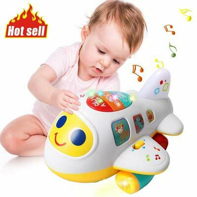 HOT  Baby Toys Electronic Airplane Toys with Lights & Music ,Best for