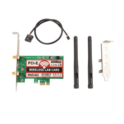 WiFi + Bluetooth 4.0 300 Mbps Wireless PCI-E LAN Netzwerkkarten Karte PC AC1093