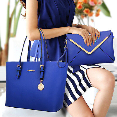 3PC Bags Set Women Fashion Leather Office Messenger Handbag Casual Shoulder Bags