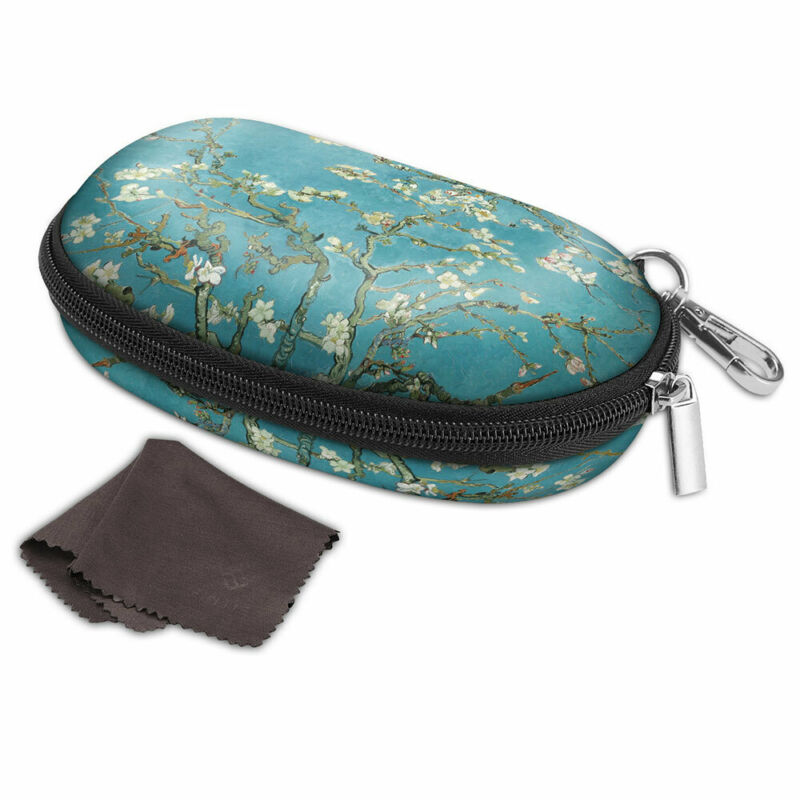 Portable Eyeglasses Case Hard EVA Shockproof Glasses Box Sleeve Soft Travel Bag