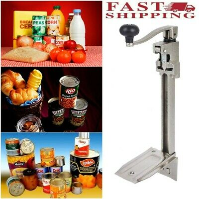 11 Large Heavy-duty Commercial Kitchen Restaurant Pro Food Lid Can Opener Table