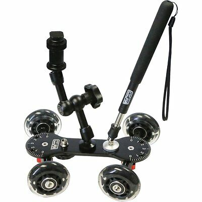 Vidpro SK-22 Professional Skater Dolly for Digital SLR Cameras & Video Camcorder Digital Slr Cameras Camcorders